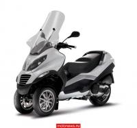 Новый трехколесный скутер Piaggio MP3 400
